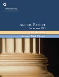 Annual Report 2003 Cover Image