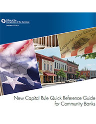 New Capital Rule Quick Reference Guide for Community Banks Cover Image