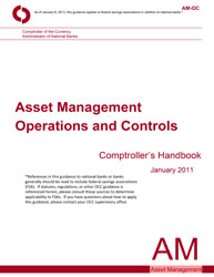 Comptroller's Handbook: Asset Management Operations and Controls Cover Image