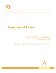 Comptroller's Handbook: Commercial Loans Cover Image