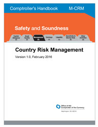 Comptroller's Handbook: Country Risk Management Cover Image
