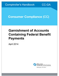 Comptroller's Handbook: Garnishment of Accounts Containing Federal Benefit Payments Cover Image