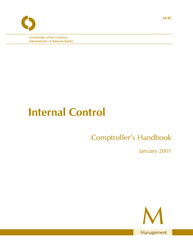 Comptroller's Handbook: Internal Control Cover Image