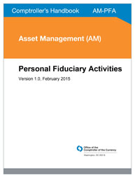 Comptroller's Handbook: Personal Fiduciary Activities Cover Image