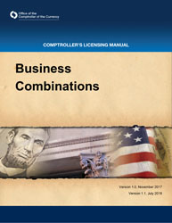 Licensing Manual - Business Combinations Cover Image