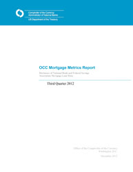 Mortgage Metrics Q3 2012 Cover Image