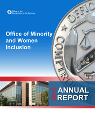 2015 Office of Minority and Women Inclusion (OMWI) Annual Report Cover Image