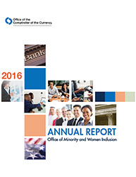 2016 Office of Minority and Women Inclusion (OMWI) Annual Report Cover Image