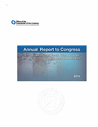 Report to Congress on Preserving and Promoting Minority Depository Institutions 2014 Cover Image