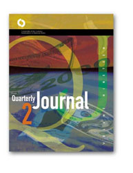 Quarterly Journal Volume 19 No. 2 Cover Image